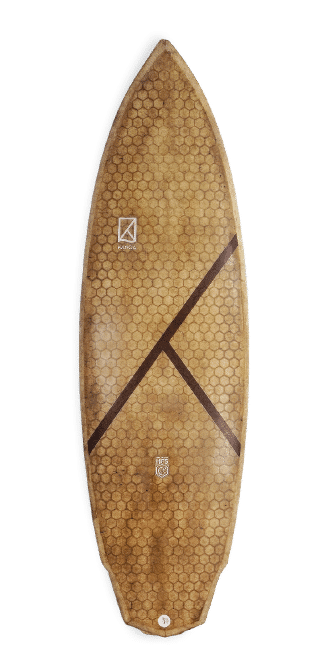 Honey Roots Technology KANOA Surfboards HRT UPCYCLED WOOD, CORK